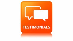 Testimonials, Teachers, Peers, associates, support